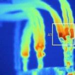 Inspeção termográfica