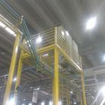 Mudança de layout industrial